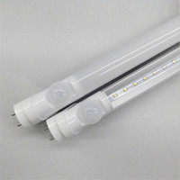 Wholesale T8 Pir Motion - T8 LED Tube Lamps 6W 9W 12W 18W 24W SENSOR Lamp PIR Motion Sensor Tubes Light AC 85-265V FCC CE EMC UL