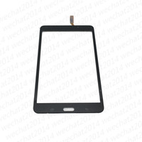 Wholesale Digitizer Tape - OEM Touch Screen Digitizer Glass Lens with Tape Adhesive for Samsung Tab 4 7.0 T230 T231 free DHL Shipping