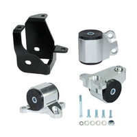 Wholesale Honda Civic Ek - Hasport Engine Swap Mount Kit (3-bolt Left Mount) D & B-Series For Honda CIvic EG EK Chassis