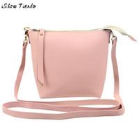 Wholesale Mix Color Handbag Shoulder Bag - Wholesale-Women PU Leather Handbags Mixed Color Dual-use Women Shoulder Bags Messenger Bags Sac A Main #2726