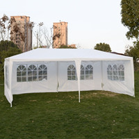 Wholesale White Tent Party - Outdoor 10'x20'Canopy Party Wedding Tent Gazebo Pavilion Cater Events 4 Sidewall