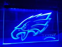 LA144b- Philadelphia Eagles Bar Beer Pub LED Neon Light Sign