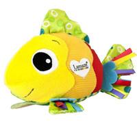 Wholesale Massage Fish - Lamaze Feel Me Fish cute clownfish massage particle ring paper cloth toys