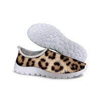 Wholesale Bodybuilding Shoes - New Outdoor Fashion Brand Sexy Leopard Printing Casual Shoes Animal Skin Style Valentine Shoes Gym Bodybuilding Mans Chaussures