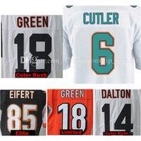 Wholesale Elite S - 2017 Color Rush Limited Elite 14 Andy Dalton 18 A.J. Green AJ 6 Jay Cutler Tyler Eifert John Ross Mens Stitched Jerseys