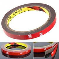 Wholesale Adhesive For Foam - High Quality 0.6cm*3m Auto Car Adhesive Strong Tape Sticker For Automobile Interior Acrylic Foam Double Sided Decal Car Tape