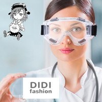 Wholesale pc medical - DIDI Men Trasparent Work Goggles Dust Windproof Eye Protection Glasses Women Anti-explosion Safety Glasses Anti-fog Lab Medical Glasses H471