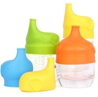 Silicone Sippy Lids Cup Kid Toddler Spill Proof rende la maggior parte delle tazze un Sippy Cup Leak Proof Safety For Kids Coppa antigoccia Spill-proof KKA1429