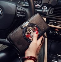 Wholesale Women Sophisticated Fashion - Original design brand package large capacity women's purse fashion sophisticated totem women hand wallet high-end quality leather walle
