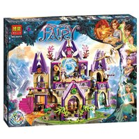 2016 Elves Azari / Aira / Naida / Emily Jones Sky Castle Fortress Minifigures Bâtiments Minifigure Toy Gift For Girls