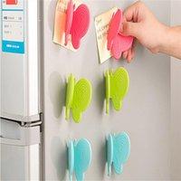 mikrowelle heiße handschuhe großhandel-Heißer Verkauf Ofen Hitze Isolierte Finger Handschuh Mitt Mikrowelle Rutschfeste Zufällige Farbe