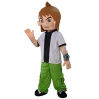 Wholesale Music Boy Mascot - 2016 Hot Sale The boy mascot costume fancy dress Interesting clothing Animated characters for part and Holiday celebrations