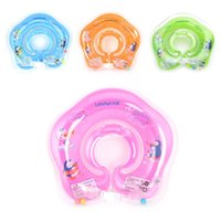 Wholesale Baby Swimming Neck Float - New Inflatable Circle Newborn Neck Float Infant Baby Swimming Ring Safety Child Toys