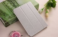 Wholesale Ipad Mini Frosted Case - Matte Frosted Slim PU Flip Lather Case 3 Folios Kickstand Smart Sleep Wake Up Cover Cases For iPad 2 3 4 mini 1 2 3 4 Air Air 2 Por 9.7