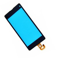 Wholesale Touch Screen Digitizer L36h - Original Front Touch Screen with Digitizer Replacement for Sony Z L36H LT36i Z1 L39h C6902 C6903 Z1 Compact Mini D5503 free DHL