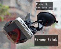 Wholesale Car Pa - 360 Degrees Rotate Car Mount Holders Universal Phone Holder for iPhone 6 6sp Strong Suction for Samsung S8 iPhone 7 plus Retail Pa