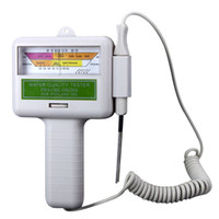 medidor de ph de spa al por mayor-Al por mayor-TFBC-calidad del agua PH / CL2 Cloro Tester Level Meter para Swimming Pool Spa White