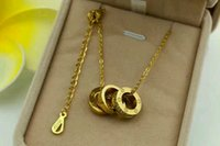 Wholesale Lockets For Men - 18k rose gold 304 stainless steel necklace for women and men necklace for girlfriend Mother's day gift
