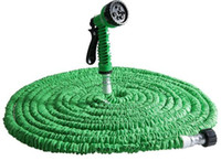 Wholesale Expandable Gun Nozzle - 7 in 1 Magic Expandable Flexible Water Garden Hose Plastic Hoses Pipe With Spray Gun For Watering 25FT 50FT 75FT 100FT