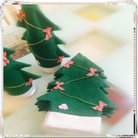 Wholesale Wine Bottle Outfits - New Household Xmas Tree Decorations Christmas Santa Outfit Coat Hat Wine Bottle Covers Bowknot Table Decoration Gifts
