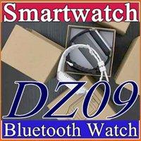 b мобильный андроид оптовых-200X DZ09 Smart Watch Wrisbrand Android iPhone iwatch Smart SIM Интеллектуальные часы мобильного телефона могут записывать состояние сна Smart iwatch B-BS