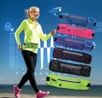 Wholesale Design Bounce - Rnning Belt Fitness Expandable Weather Resistant Waist Pack Compact Bounce Free Design Expands to Carry Phone and Other Essentials out146