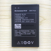 Wholesale Lenovo A278t Battery - New for lenovo BL203 BL-203 A66 A278T A365E A308T A369 A318T A385E battery free shipping