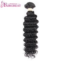 Wholesale european human hair prices online - Factory Direct Outlet Price Piece Sample Brazilian Deep Wave Human Hair Extension NO Tangle NO Shedding
