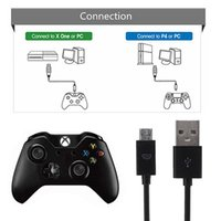 Wholesale Usb Xbox Cable - Long 3M 10ft Micro USB Charging Power Cable for PS4 Xbox One Wireless Controller