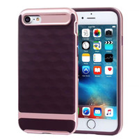 Wholesale Iphone5 Diamond Case - 3D Diamond texture For iphone5 5s SE case soft TPU+PC dual layer cover case for 5 5s SE free shipping 2017 hot