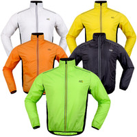 Wholesale raincoat bike - Tour de France200g full sleeve cycling sports bicycle raincoat jacket breathable windproof waterproof ridingwear bike clothes