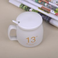 Paul Ceramic 320ml Mug Kitchen Drinkware Coffee Mugs Copo de café para leite Design simples Boa qualidade Fashion Tea Container