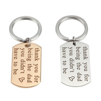Wholesale gold digital photo frames - Wholesale Fashion High Polished Stainless Steel Silver ,Gold Dog Tag Charm Keychains can customized information logo