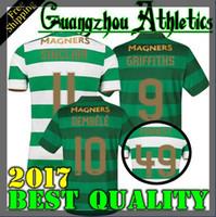 Wholesale Fc Top - TOP Quality 2017 2018 Celtic FC Home Soccer Jersey 17 18 Celtic Griffiths dembele Sinclair Rogic McGregor Roberts Forrest Jerseys