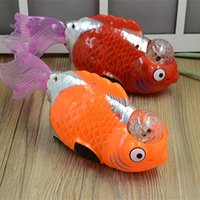 Wholesale Small Plush Fish - Yiwu ten yuan store toys wholesale electric small goldfish toy toy electric universal toy fish