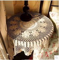 PASAYIONE Blending Crochet Blume Tischtücher Home Cover Tuch Round Table Tuch Home Textile Elegant Overlays Manteles Para