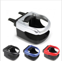 Wholesale Can Holder For Car - Bottle Can Coffee Drinking Cup Holders Stand Auto Car Air Vent Mount Tray Outlet Cup Coffee Clip Holders for Car Auto Supplies