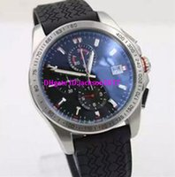Wholesale Automatic Tachymeter - New Arrival Quartz Senna Caliber Men's Wristwatch Tachymeter Rubber Band Male wATCH