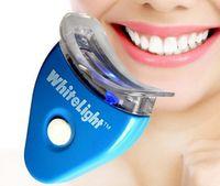 Wholesale Teeth Whitening Laser Wholesale - Whitener Set White Light Tooth Brightening System Series Laser Teeth Whitening 1 Set.