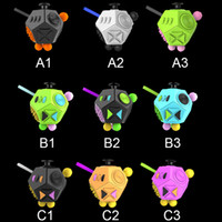 Wholesale toys wholesale usa - The 2nd generation Fidget cube 12 surface 9 Color decompression anxiety Toys The World's First USA Original Adults Cube Relieves OTH374