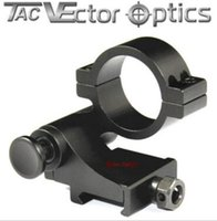 Wholesale Tac Vector Scopes - TAC Vector Optics Tactical 30mm Flip to Side 90 Degree Weaver Picatinny Mount Ring for 3x 4x 5x Magnifier Scopes Hunting Accessories
