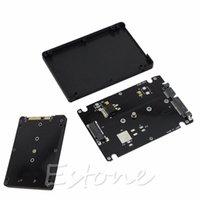 ssd kartları toptan satış-Toptan-7MM kalınlığı Muhafaza M.2 NGFF SSD 2.5