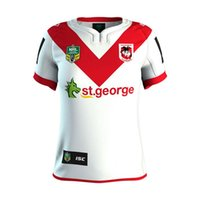 Wholesale george t shirt - Hot sales St George Dragons 2017 Australia Home Jersey Thai version of San Giorgio Rugby Uniforms T-shirt Australian Rugby shirt