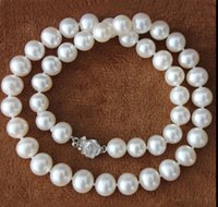 ENVÍO GRATIS AAAAA 8-9mm Blanco Sur Akoya Sea Pearl Necklace 18 ''