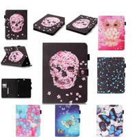 Wholesale For Samsung Galaxy Tab S2 quot T810 T815 Case Painting Style Pu Leather Stand Case Cover For Samsung Tab S2 inch Y5555D
