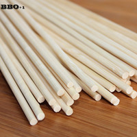 Wholesale Hot cm mm Bamboo Wooden BBQ Skewers Spiral Tornado Potato Skewers Bamboo Barbecue Sticks Natural Wood BBQ Skewer set