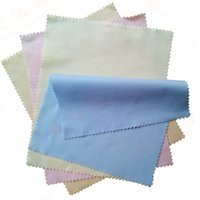 Wholesale Cotton Lens Cleaning - Square Glasses Cloth Superfine Fiber Lens Cleaning Clothes Washable Screen Wipes For Cell Phones Camera Universal 0 18jm B