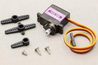 Wholesale Electric Motor Copper - MG90S copper gear (9g size) metal gear 14g steering gear