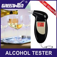 Wholesale Alcohol Tester Best - Best Selling KeyChain Alcohol Tester ,Business Gift Digital LCD Display Alcohol tester Breathalyzer,Factory Drive Safety