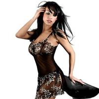 Neuheiten Und Spezialanwendung Sexy Chemises Babydoll Erotische G-string Nachtwäsche Hot Perspektive Unterwäsche Kostüm Lenceria Sex Mini Kleid Weiche Tasse
